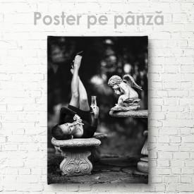 Poster, Înger și fată
