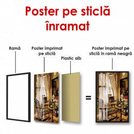 Poster, Interior regal cu fereastră