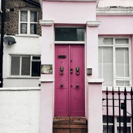 Poster, Ușă roz