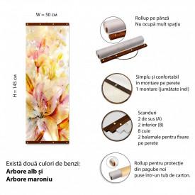 Roll-up, Crini multicolori