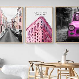 SET, Elemente roz de oraș