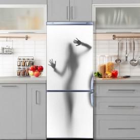 Stickere 3D pentru uși, Umbra unei femei, 1 foaie de 80 x 200 cm