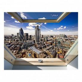 Stickere pentru pereți, Fereastra 3D cu vedere spre orașul minunilor