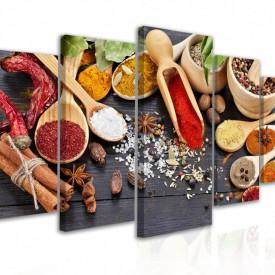 Tablou modular, Set de condimente aromate