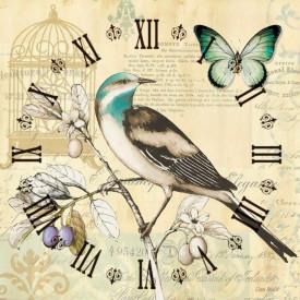 Tablouri Canvas, Ceasul cu o pasăre