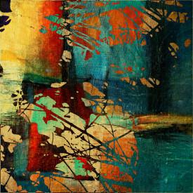 Fototapet, Abstracție multicoloră