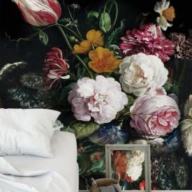 Fototapet, Buchet de flori în stil de natur-mort