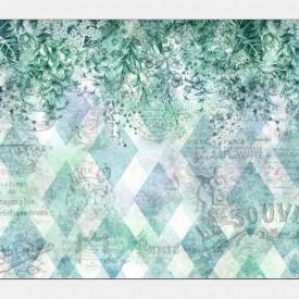 Fototapet, Fantezie în nuanțe de verde