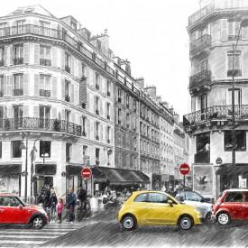 Fototapet Orase, Orașul desenat