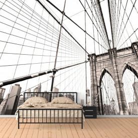 Fototapet, Podul orașului