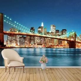 Fototapet Poduri, New Yorkul în culori vii