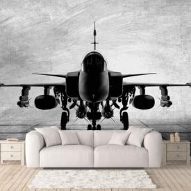 Fototapete Alb-Negru, Avionul alb-negru