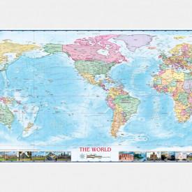 Fototapete, Lumea pe hartă