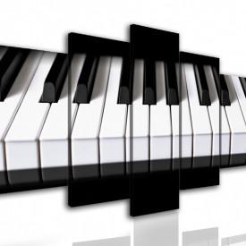 Multicanvas, Clapele pianului