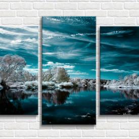 Multicanvas, Lacul de iarnă
