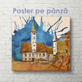 Poster, Clopotnița din sat