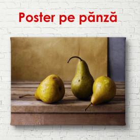 Poster, Compoziție cu pere