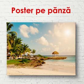 Poster, Dimineața frumoasă la plajă
