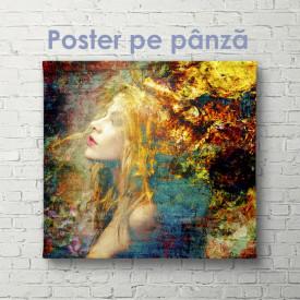 Poster, Fata visurilor