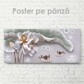 Poster, Floare gingașă și rățuște