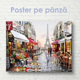 Poster, Harta politică a României