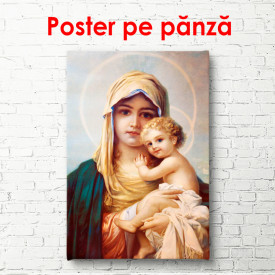 Poster, Imagini cu Fecioara Maria cu Fiul Ei, Isus