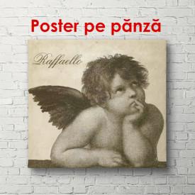 Poster, O pictură cu un înger