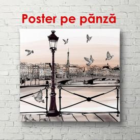 Poster, Orașul noaptea