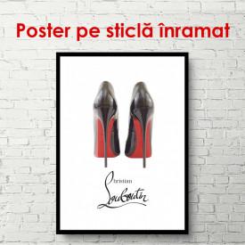 Poster, Pantofii lui Christian Louboutin