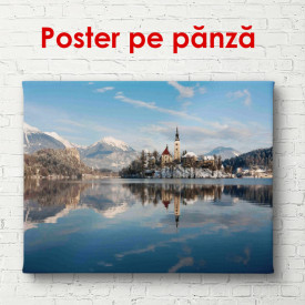 Poster, Peisajul în reflectarea lacului