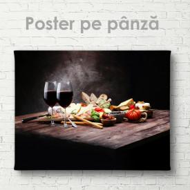 Poster, Platou pentru doi