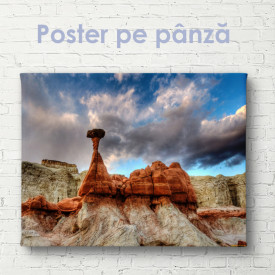 Poster, Stânci antice în deșert