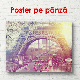 Poster, Turnul Eiffel la răsărit