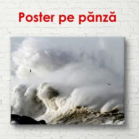 Poster, Valurile mării la apus