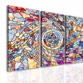 Tablou modular, Fantezie multicoloră.