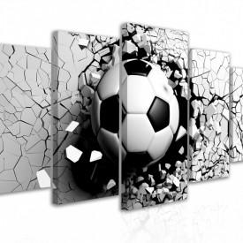 Tablou modular, Minge de fotbal