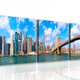 Tablou modular, Panorama Manhattanului de Jos