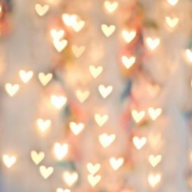 Fototapet, Inimi ce luminează