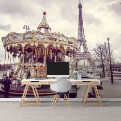 Fototapet Orase, Carusel din Paris