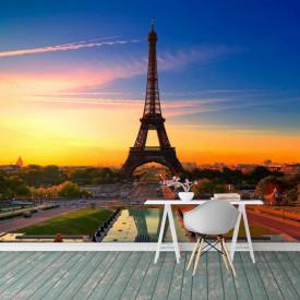 Fototapet Orase, Turnul Eiffel în culori vii