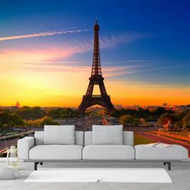 Fototapet, Parisul de seară