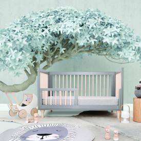 Fototapete, Copac cu frunze albe