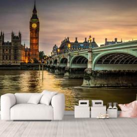 Fototapete, Londonul în culori vii
