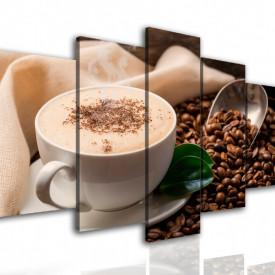 Multicanvas, Ceașca de cappuccino și boabe de cafea