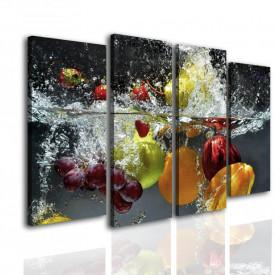 Multicanvas, Fructe în apă