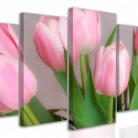 Multicanvas, lalele roze