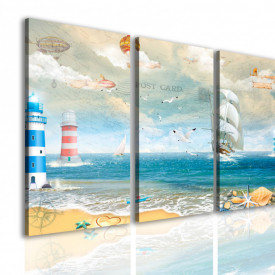 Multicanvas, Plaja fantastică