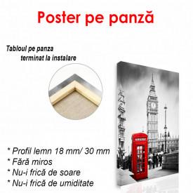 Poster, Cabină telefonică roșie din Londra