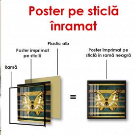 Poster, Fluture auriu