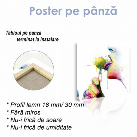 Poster, Imagine abstractă